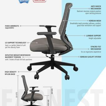 Earnest Midback Office Chair